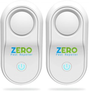 ZERO PEST REPELLER Ultrasonic Pest Repeller